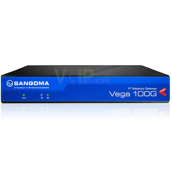 Vega 100 Media Gateway 1-Port PRI/ISDN30 / 30 Canal VoIP VEGA-VS0154